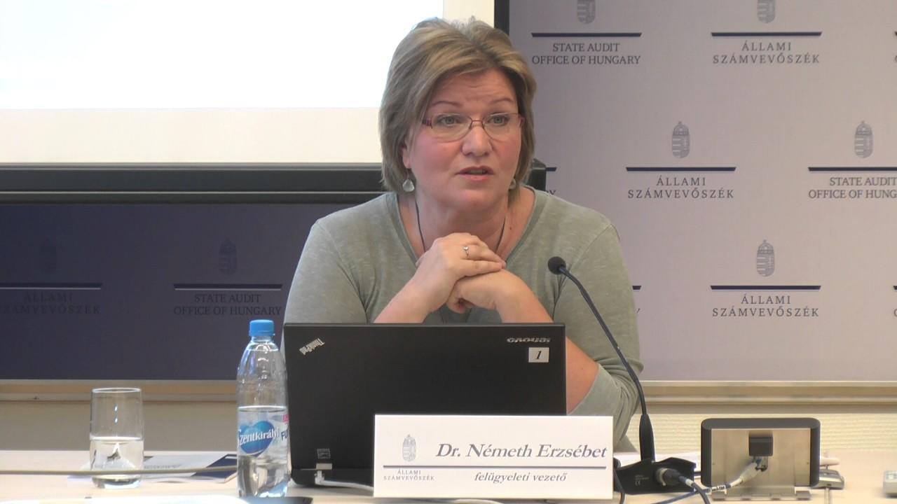 Állami Számvevőszék: Állami Számvevőszék-Dr.Németh Erzsébet-Parlagfű Elleni
