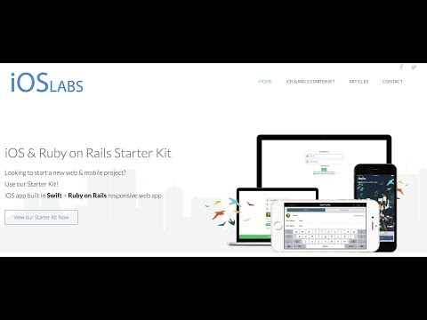 Creating a blog from scratch in Ruby on Rails