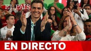 Sigue en directo el acto de campaña de Pedro Sánchez y Susana Díaz en Chiclana