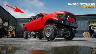 truck Building Simulator - ПЕРВЫЙ ВЗГЛЯД ! Я УДИВЛЁН ! Diesel Brothers