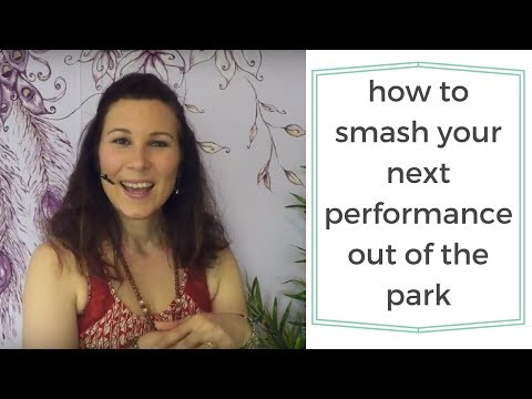 What every aspiring bellydance performer should do before a show (are you doing it?)