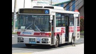 西鉄バス北九州 門司9451 PKG-RA274MAN改(74 和布刈→戸畑渡場)