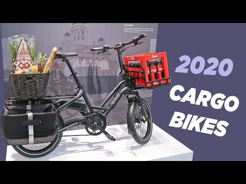 New 2020 Electric Cargo Bikes From Tern - First Look