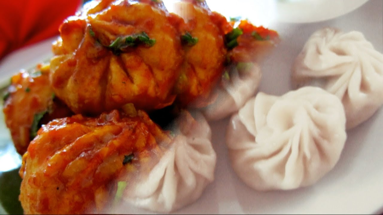 Veg. Momo - Fusion Chilli Momo video recipe by Bhavna - YouTube