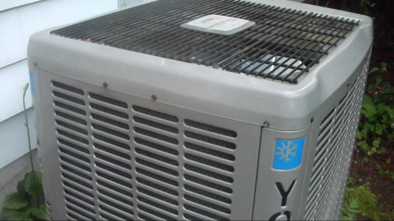 York Affinity Series 3s 13 Seer 3 5 Ton Central Air