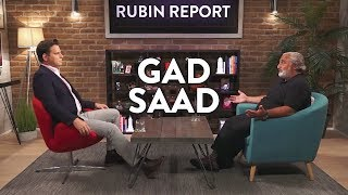Gad Saad and Dave Rubin: Psychology of Trump, Men vs Women, and Robotics (Full Interview)