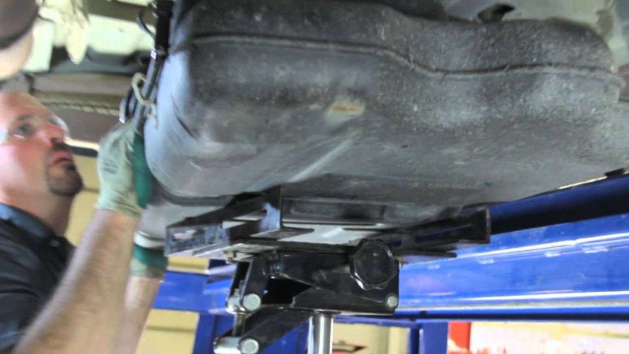 how to replace a fuel pump e7144m on 2001-2003 chrysler and dodge minivans  - youtube