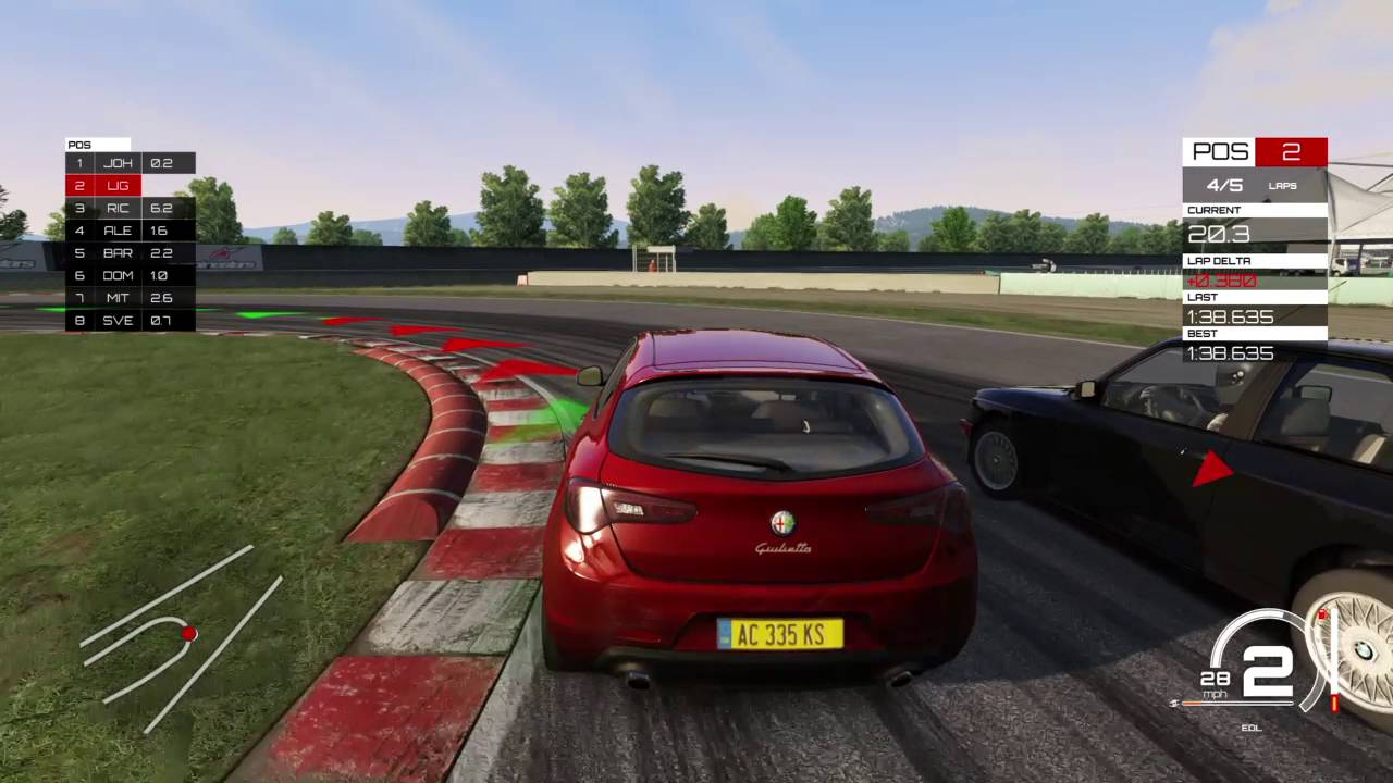 assetto corsa ps4 gameplay youtube. Black Bedroom Furniture Sets. Home Design Ideas