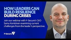Webinar: How Leaders Can Build Resilience During Crises