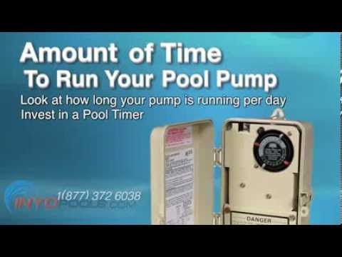 How to Reduce Your Pool Pump Energy Bill - INYOPools com