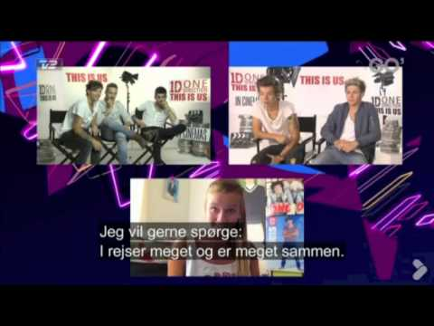 One Direction - TV2 Interview (Denmark)