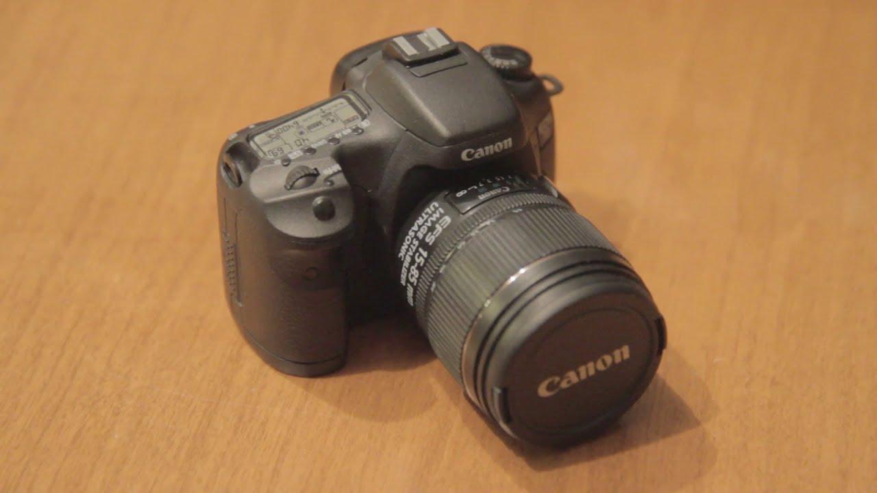 Canon 7D DSLR Mini (USB Flash Drive) - YouTube