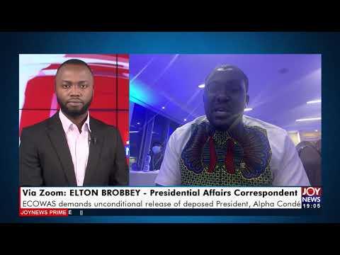 ECOWAS demands unconditional release of deposed President, Alpha Conde - Joy News Prime (26-9-21)