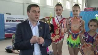 Брюховецкая ДЮСШ, соревнования по художественной гимнастике