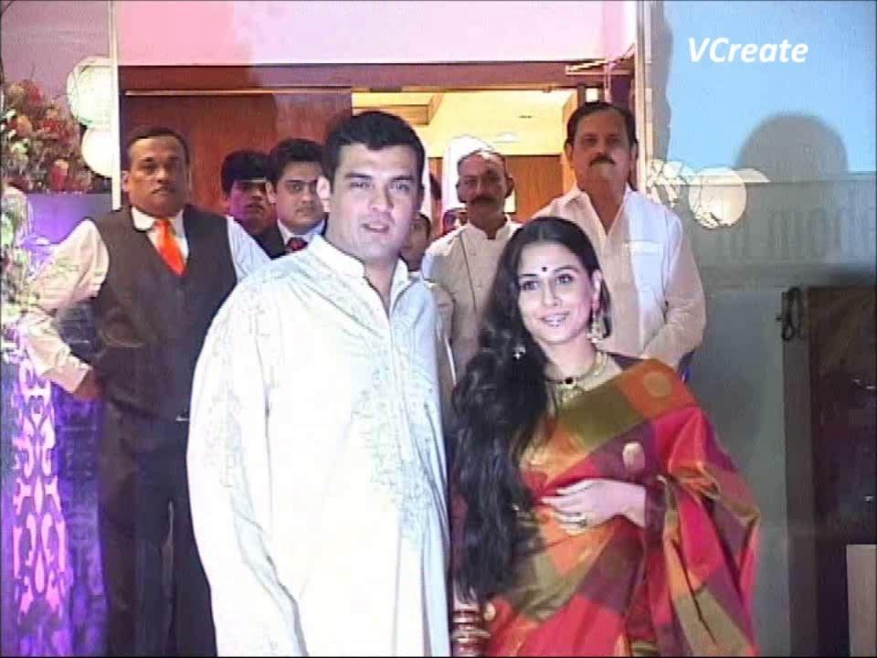 Vidya Balans Wedding Ceremony Youtube
