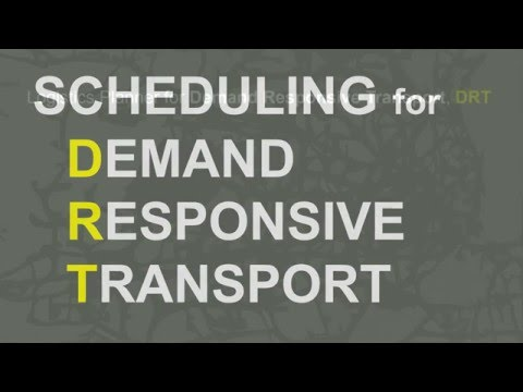 Scheduling Software for Demand Responsive Transport