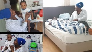 Summer Morning Routine of a Mom of 3 | COLLAB with Abi and Family