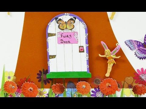 How to make and paint Fairy Doors | Toy Soldier Factory Workshops