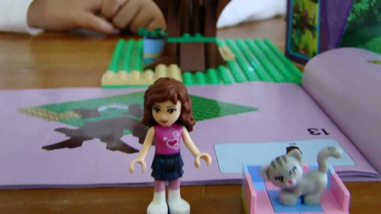 Lego Friends Film Olivias Tree House Youtube