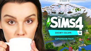 I secretly helped make The Sims 4 Snowy Escape...