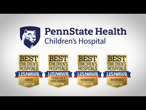 U.S. News & World Report Best Children's Hospital - 2017-2018 - Penn State Children's Hospital