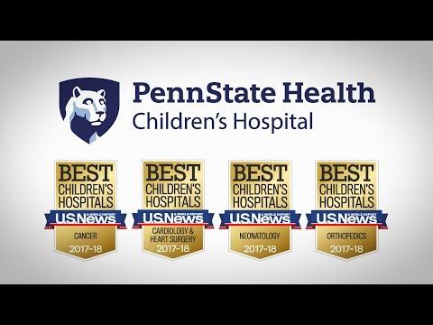 U.S. News & World Report Best Children s Hospital - 2017-2018 - Penn State Children s Hospital