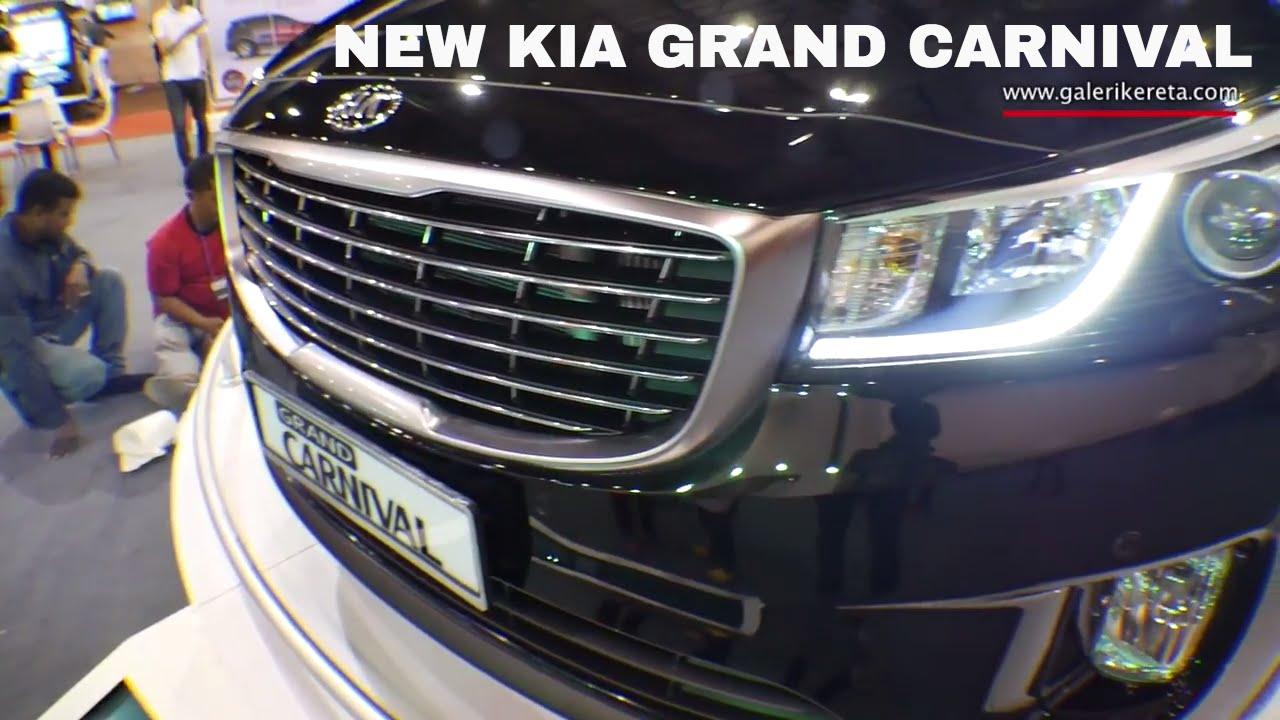 2018 kia grand carnival. brilliant carnival kia grand carnival sedona 2017 exterior review  malaysia auto show miecc  2016 closeup video  youtube and 2018 kia grand carnival