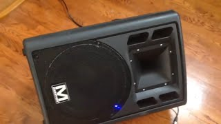 marathon rms 450 active pa speaker repair