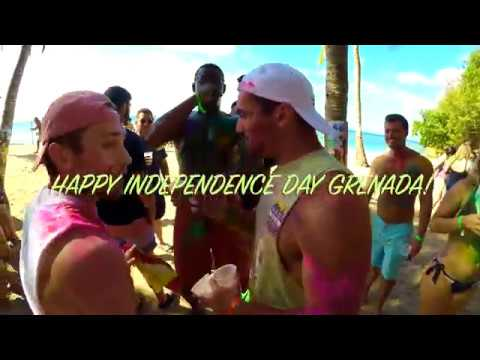 Grenada Independence Day: Paint J'Ouvert Paint Party 2019