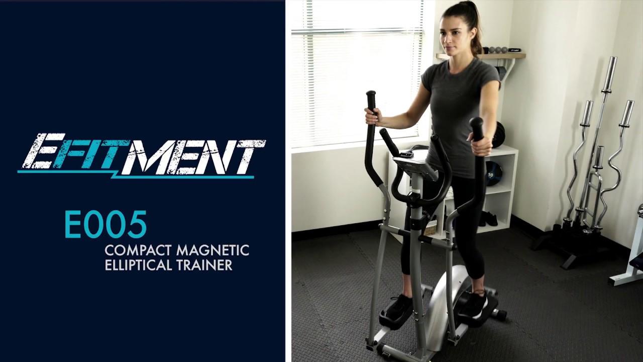 Efitment elliptical machine trainer reviewed garage gym pro