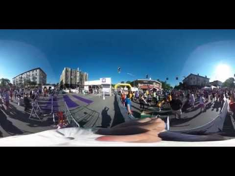 360 Degree Interactive Video of Hyde Park Blast Cincinnati 2016