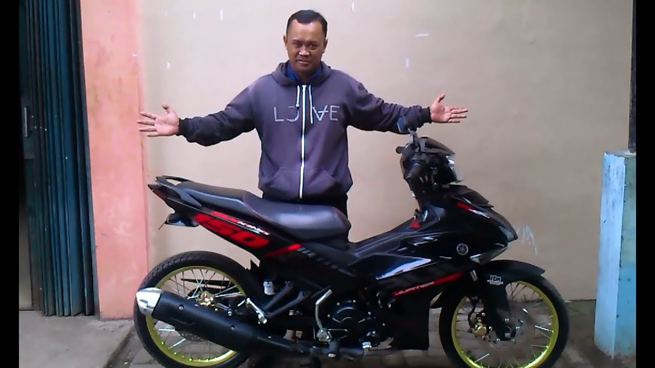 racing motorcycle - modifikasi yamaha jupiter mx king - youtube