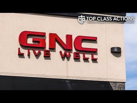 GNC Deceptively Labeling Supplements, Lawsuit Claims