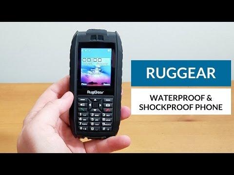 RugGear RG128 - Waterproof Phone - Floatable Phone Unlocked Rugged Mobile Phone