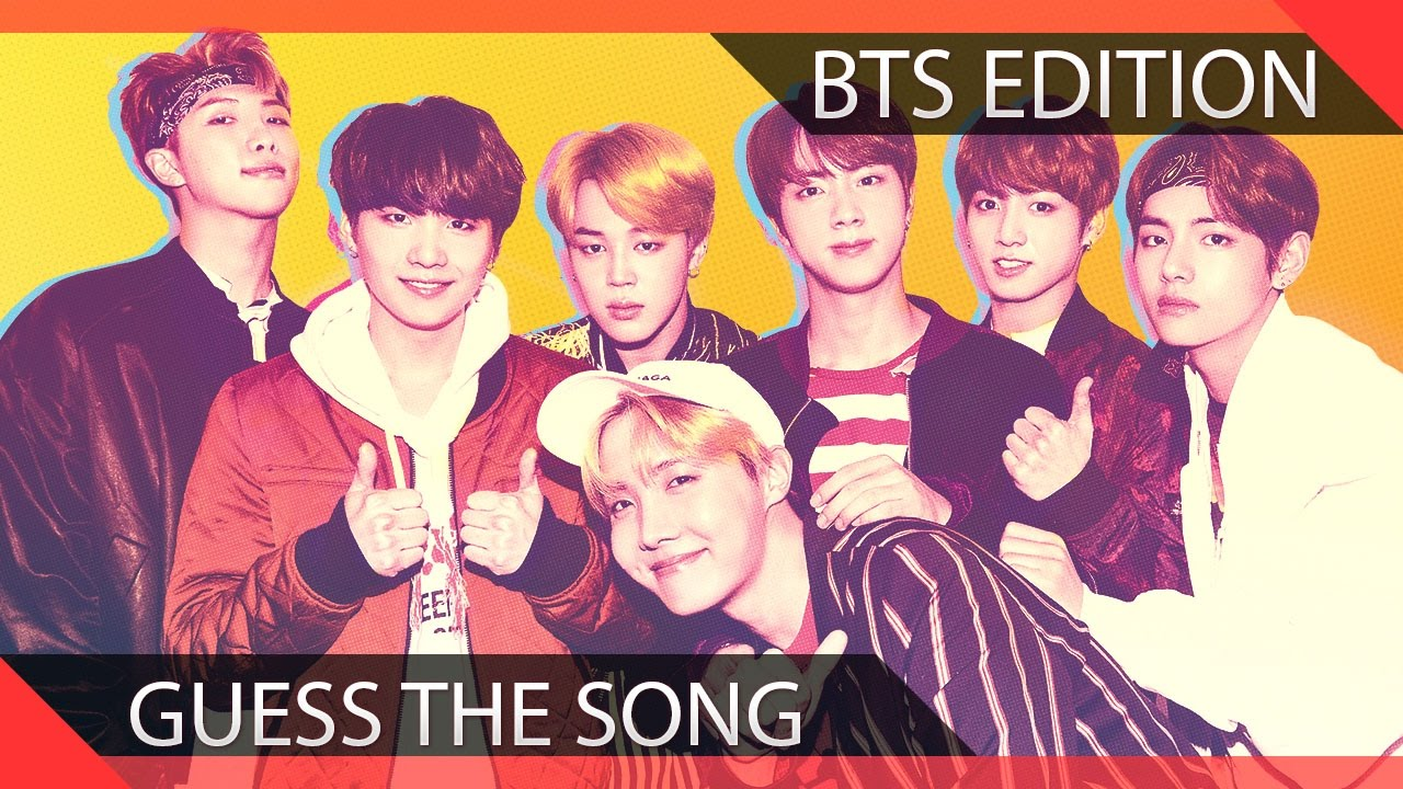 Guess The BTS Song In 1 Second