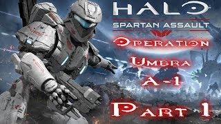 Halo: Spartan Assault - Gameplay Walkthrough - Assault On CF32