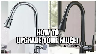 (DIY)😍How To Upgrade Your Faucets Using Rustoleum Spray Paint
