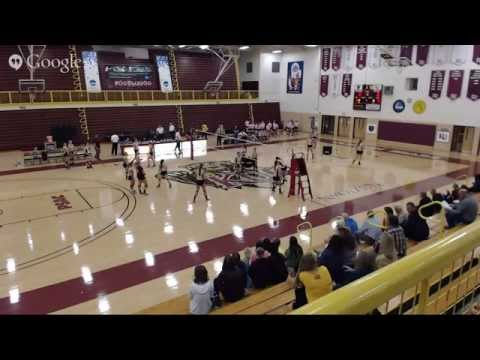 Women's Volleyball vs. Lock Haven (10-24-14)