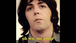 Paul McCartney - My Love ( Subtitulada En Español Latino )