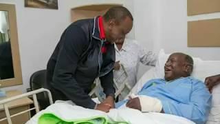 Video President Uhuru Kenyatta visits ailing Kenneth matiba at Nairobi hospital download MP3, 3GP, MP4, WEBM, AVI, FLV September 2018