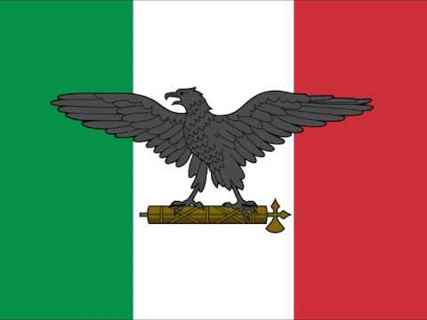 National Anthem of the Italian Social Republic (vocal)