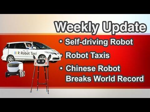 Skype Self-driving Robot | Robot Taxi | Xingzhe No. 1