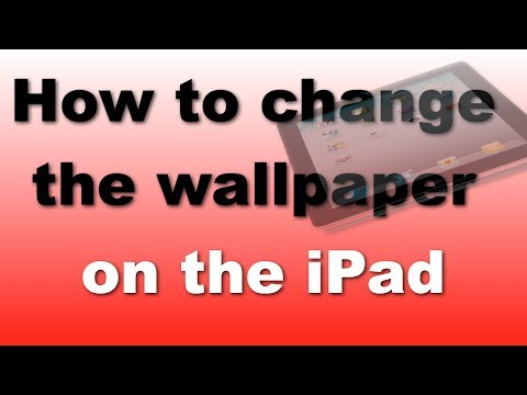 How to change the wallpaper on your iPad / iPad Mini