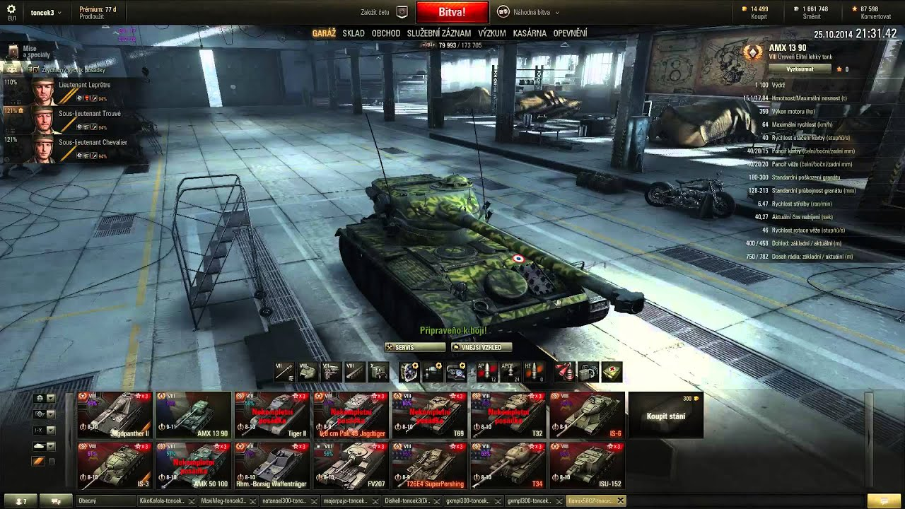Download World of Tanks CZ - Záznam stream z týmovek a lamení na publicku 25.10.2014
