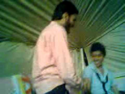 jinnah islamia welcome party 2010 whole clg dancing with sir kashif part 3