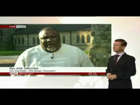 Ade Omooba discusses kidnapped Nigerian schoolgirls on BBC News