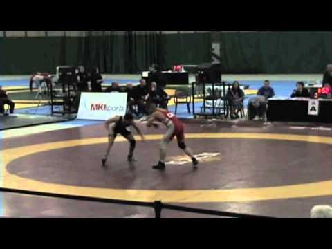2009 Senior National Championships: 55 kg Final John Pineda vs. Aso Palani