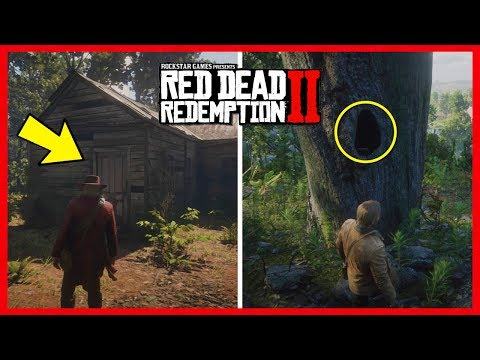 Red Dead Redemption 2 SECRET Shack Locations - Treasure Map Guide To Find Loot & MORE! (RDR2)