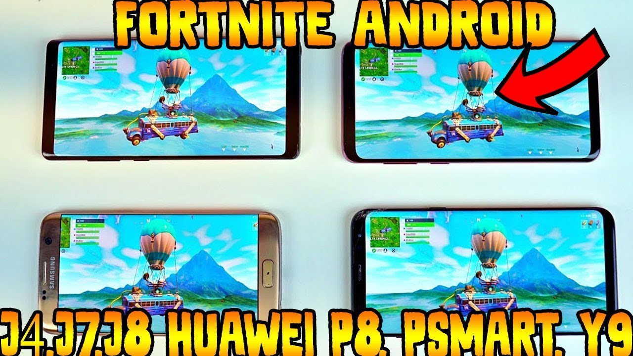 ya funciona fortnite android en j4 j7 j8 huawei p8 psmart y9 y muchos mas - y9 2019 fortnite