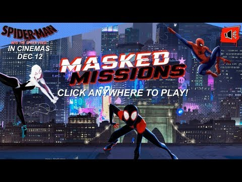 Spider Man Into The Spider Verse Masked Missions Nickelodeon Games